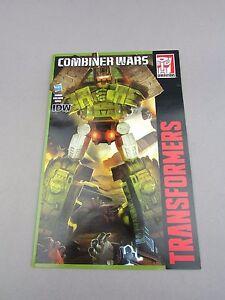 Transformers Generations Brawl Comic IDW Combiner Wars Hasbro