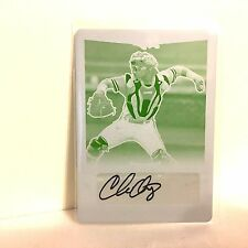 CHRIS OAKEY Auto 2016 Leaf Metal 1/1 Print Plate Rookie Autograph FREE SHIP