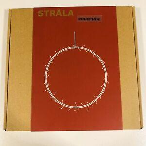 IKEA Strala ringförmig 27 cm Hängeleuchte Fensterleuchte 704.786.68 NEU OVP