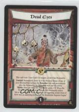 2001 Legend of the Five Rings CCG - Gold Edition #509 Dead Eyes Gaming Card 0b5