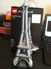 LEGO Architecture Eiffel Tower Paris 21019 Used, fully complete