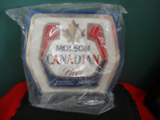 VINTAGE MOLSON CANADIAN BEER AN HONEST BREW MAKES ITS OWN FRIENDS BAR SIGN