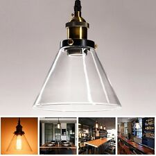 New Vintage DIY LED Glass Pendant Ceiling Light Fixture Chandelier Edison Lamp