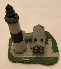 "Scaasis Originals Montauk Point New York Lighthouse 111-S Nice Shape 4""x 3""x 4"""