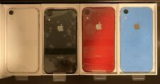 (4) Apple iPhone XR - 256GB - Black|Red|White|Blue( Unlocked) Price Is For 1