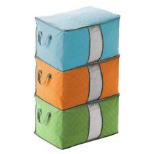 Foldable Storage Bag Organizer Large Capacity Clothing Blanket Quilt Storage Box