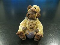 "Boyds Bears #81500 ""Alouysius Quackenwaddle"" Hatching Duck Egg 2000 Easter SAVE!"