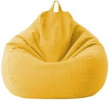 Sillón Puff Cubierta para Sofá Perezoso Fundas Clásicas de Puff Pera 100 * 120cm