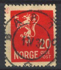 Norway 1926-34 Lion II NK 145 Son BARDU (Tr-Grade 4) 1.4.1931