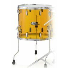 "Pearl Crystal Beat 18"" Diameter X 16"" Deep Floor Tom/#732/Tangerine Glass/New"