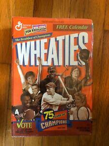 1999 Wheaties Sealed Box 75 Years of Champions