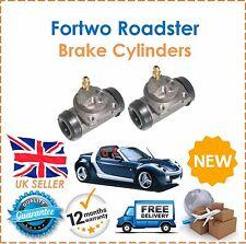 Se adapta a Smart Fortwo Roadster dos Cilindro De Freno Trasero x2 Nuevo O.E Calidad!