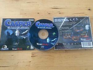 Casper: The Interactive Adventure PC CD 1997 Complete Windows 95/98 CD-ROM