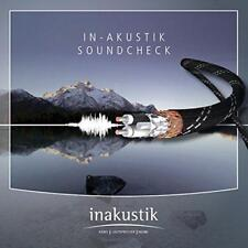 The In-Akustik Soundcheck - Various (NEW CD)