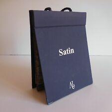 Catalogue tissu ameublement TESSUTI Satin AL ARREDAMENTO LOMBARDO ITALY N4694