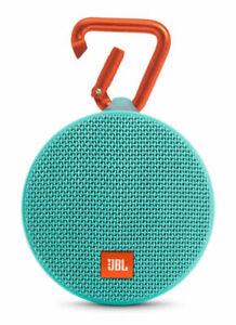 JBL Clip 2 Waterproof Portable Bluetooth Speaker (Teal)