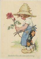 Ansichtskarten,Glückwunschkarten,Gruß,Feste,Kinder,Blumen,Geburtstag
