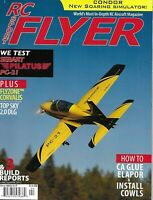 RC Sport Flyer Model Airplane Magazine Sebart Pilatus Flyzone Corvalis Condor