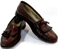 Florsheim Mens Dress Shoes Loafer with Tassel Brown Leather Size 8 D