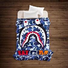 Bathing Ape Bape Shark Blanket Soft Camo Coverlet Bed Cover Traveling Sofa New