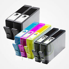 7 PK New 564 564XL Ink Cartridge for HP Plus-B209a C5324 D5440 B109a 5520 7520