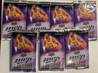 Lot Of 7 Unopened 2008-09 Upper Deck MVP Retail Basketball Packs Possible Rookie