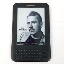 Amazon Kindle Keyboard (3rd Generation) 4GB, Wi-Fi + 3G (Unlocked), 6in Graphite