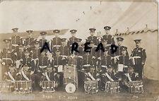 Grupo Regimiento Banda 7th Middlesex Territorials Falmer Campamento 1912