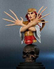 Bowen Designs LADY DEATHSTRIKE mini bust/statue~X-Men~Deathstryke~Wolverine~NIB