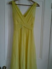LK Bennett Womens Silk Chiffon Dress, Perfect for Bridesmaid or Special Occasion