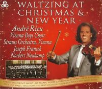 WALTZING AT CHRISTMAS & NEW YEAR WITH ANDRE RIEU - 3 CD BOX SET
