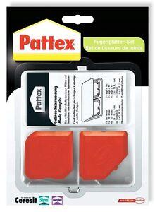 Pattex Fugenglätter-Set 2 teilig Silikonfuge Silikon Silikonabzieher PFWFS