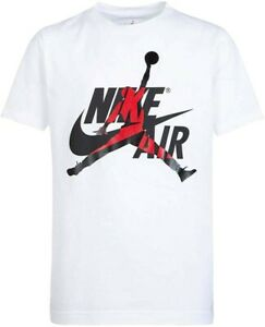 Men's Nike Air Jordan Jumpman Classsics White Tee Shirt- size XL- New