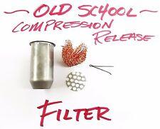 "Compression Release Filter ""Old School"" Vintage Motocross Flat Track AHRMA 14mm"