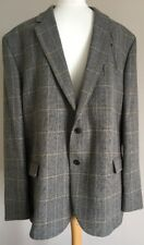 Bnwot Mens Marks And Spencer Tweed Blazer Jacket Size 48 Medium