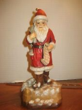 Anri Wood Carved Santa Claus-Signed By B. Shackman & Dated 1988 Le#377 Of 500 #1