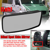 FULL ADHESIVE Driver Side LH 544LF FOR 01-09 Mercedes-Benz C E AMG Mirror Glass