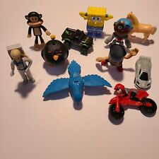 McDonald's Assorted Toy Lot 11 Pcs Angry Birds/Spongebob/Incredibles + More