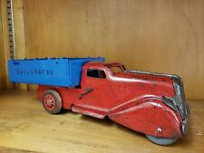 Vintage Marx Wyandotte Pressed Steel Toy Truck Mar Old Tin Toy Lot