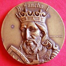 King D Sancho I of Portugal The Populator Monarchy Collection Bronze Medal!