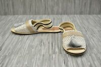 **Bettye Ace-1 Slingback Sandal - Women's Size 7M, Silver - NEW