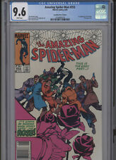 AMAZING SPIDERMAN #253 NM 9.6 CGC WHITE PAGES CANADIAN PRICE VARIANT 1ST APP. RO