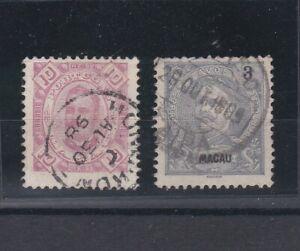 Portugal - Macao/Macau Two Nice Postmarks