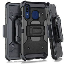 for Samsung A20 A50 Heavy Duty Tactical Combo Black
