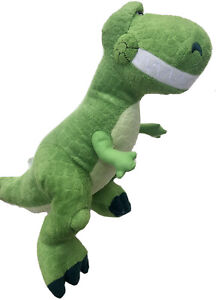 """Toy Story Rex Kohls Cares for Kids Plush 14"""" Green Dinosaur T-Rex Disney PIXAR"""
