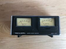 Vintage Realistic Audio Power Meter APM-100 with Simulated Wood Grain Finish!
