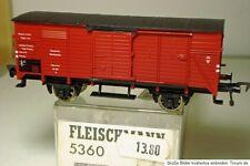 FLEISCHMANN 5360 Vagón de Carga Cerrado G Marrón DRG EP 2. En emb.orig., F. AC