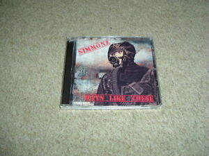 SIMMONZ - DAYS LIKE THESE - CD ALBUM - NEW - 80'S EARLY 90'S HARD ROCK