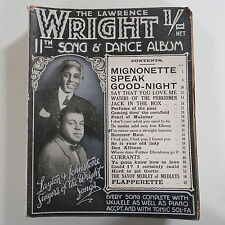 LAWRENCE WRIGHT`s 11th song & dance album , cover feat. layton & johnstone