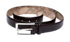 Burberry Men's Dark Brown Belt Sz 44/110 3508